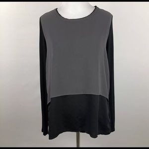 ELIE TAHARI 🛍 Shirt Medium Color Block